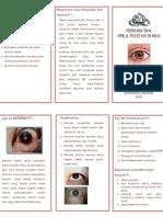 Leaflet Perawatan Pre Dan Post Katarak