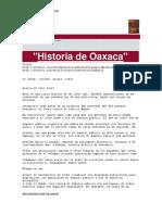 Historia de Oaxaca