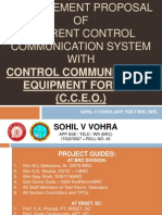 Replacement Proposal of Current Control Communication System with Control Communication Equipment for OFC (CCEO)