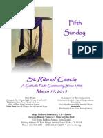 St. Rita Parish Bulletin