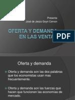 Oferta y Demanda en Las Ventas