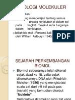 Tatap Muka Ke i - Biologi Sel