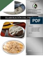 ELABORACIÓN DEL PATÉ