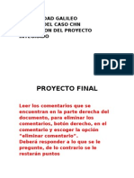 Proyecto Apace 2013