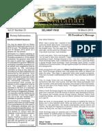 RCBKS Bulletin Vol 21 No 31