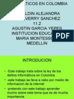 Lei Sobre Los Delitos Informaticos en Colombia[1]