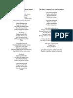 Lirik TDC - Anang