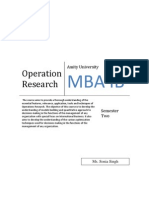 Book pdf research operations