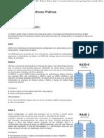 Oracle x RAID - Melhores Práticas
