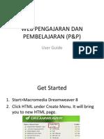 Web Pengajaran Dan Pembelajaran (p&p)