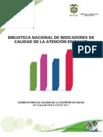 Biblioteca Nacional de Indicadores de Calidad en Salud - BNI Enero 2011 (1)