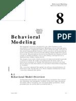Behavioral Modelling