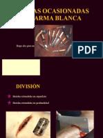 HERIDAS OCASIONADAS POR ARMA BLANCA.pptx