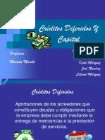 Créditos Diferidos Y Capital