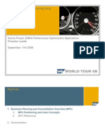 World Tour - SAP BPC