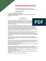 Resolución Alternativa de Conflictos Penales
