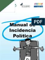 Alliance - Equidad - Asical - Manual de cia Politica Para Organizaciones Con Trabajo en VIH-Sida