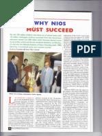 Why Nios Must Succeed