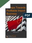 6 Steps Towards Profitable Import Business