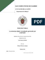 Tesis Doctoral.la Estampa Digital.el Grabado Generado Por Ordenador