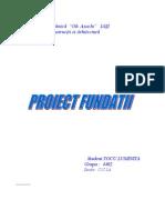 PROECT ET 1-5 Fundatii