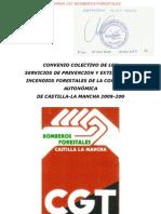 Negociación del Convenio Colectivo Incendios Forest Ales Castilla La Mancha