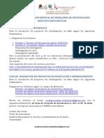 guia oficial de inscripcion de proyectos X EDESI nodo Bolívar