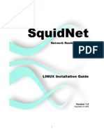 SquidNet Linux Installation Guide