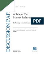 Tale Market Failuresmarket failure