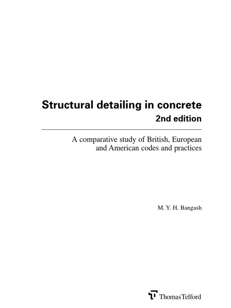 Crsi Reinforcing Bar Detailing Manual Arts