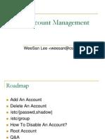 02 Account Management