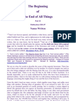 The Beginning  of  The End of All Things  Part 22