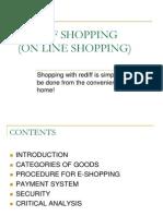 20062240 e Shopping Ppt by Sahil