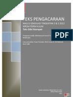 TEKS MAJLIS GRADUASI TINGKATAN 3 & 5 2012 MRSM PDRM