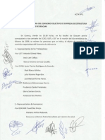 Comisión Negociadora Del Convenio Colectivo de Empresa de Estructuras y Asistencias técnicas