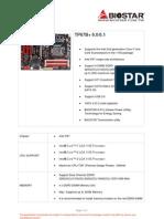 TP67B+ Spec Sheet