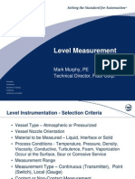 Level Measurement
