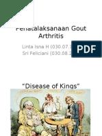 Penatalaksanaan Gout Arthritis