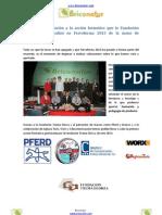 Muy buena valoración a la acción formativa que la Fundación Txema Elorza realizó en Ferroforma 2013 de la mano de Briconatur.