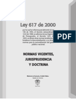 Ley 617 de 2000 Version 2008