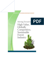Moving Toward a Globally Competitive Forest Industry