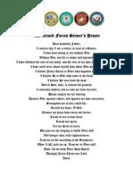 The Sinner's Prayer (Military Bible Association)