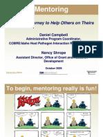 W1 - Mentoring