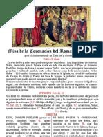 Folleto. In Die Creationis et Coronationis Papæ