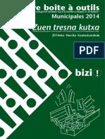 Boîte à outils pour agir contre le changement climatique et pour la transition énergétique et écologique (Bizi)