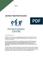 sejarah fisioterapi