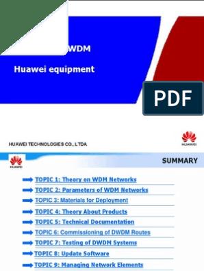 DWDM Training | Wavelength Division Multiplexing