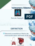 Acute Pulmonary Edema Kul