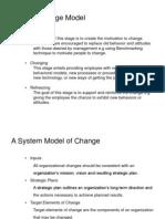 System Model of Change