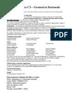 MatematicaC3 Geometria Razionale 2ed
